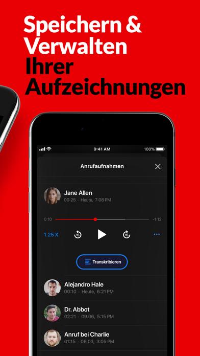 Anruf aufnehmen - RecMyCallsScreenshot von 3