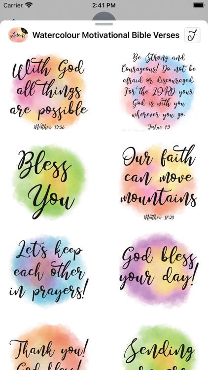 Watercolour Motivational Bible screenshot-3