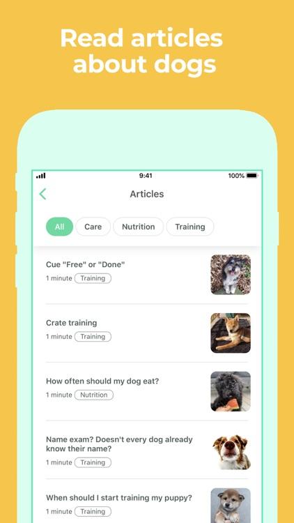 Dog Training & Clicker by Dogo screenshot-9