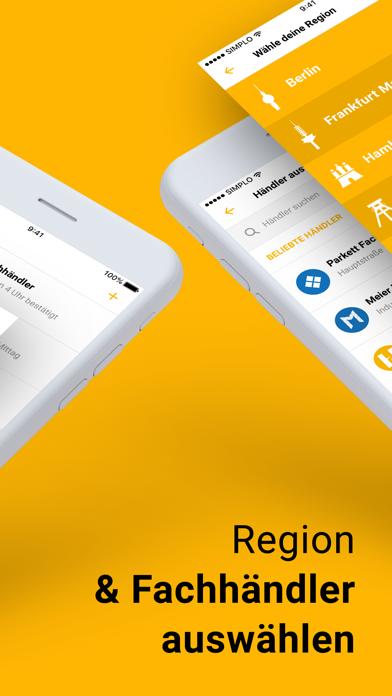 Simplo - Die Handwerker AppScreenshot von 2
