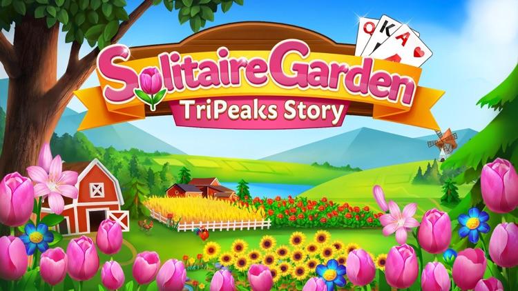 Solitaire Garden TriPeak Story screenshot-4