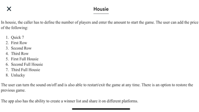 Housie - Indian Bingo game screenshot 6