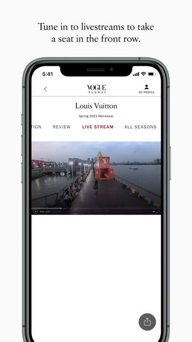 Vogue Runway Fashion Shows screenshot three