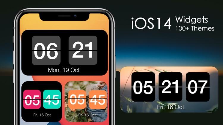 Flip Clock - Digital Clock screenshot-0