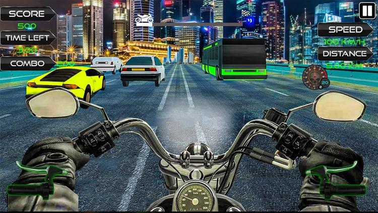 Moto Rider Highway Racer 3D screenshot-6