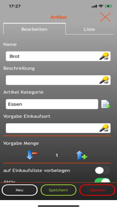EniShoppingList screenshot 6