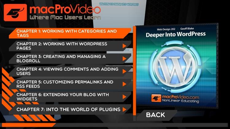 Deeper Course into WordPress