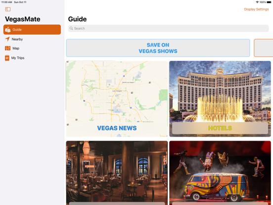 VegasMate - Las Vegas Travel Guide screenshot