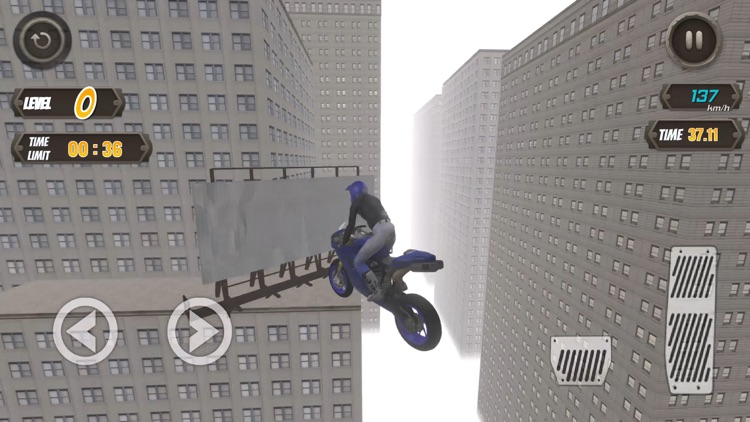 Rooftop Biker screenshot-4