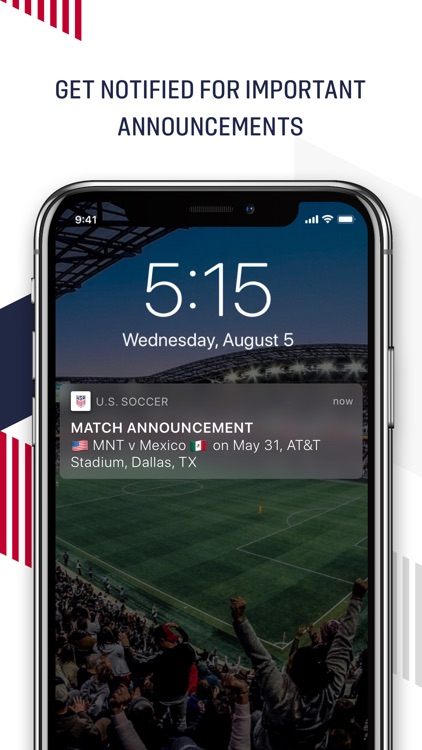 U.S. Soccer – Official App screenshot-1