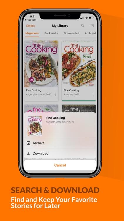 Fine Cooking Magazine screenshot-4