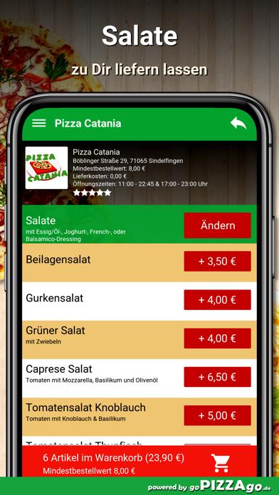 Pizza Catania Sindelfingen screenshot 5