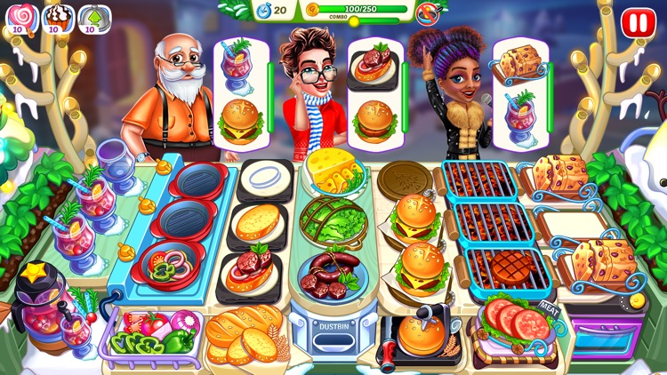 Christmas Fever Cooking Games screenshot-4