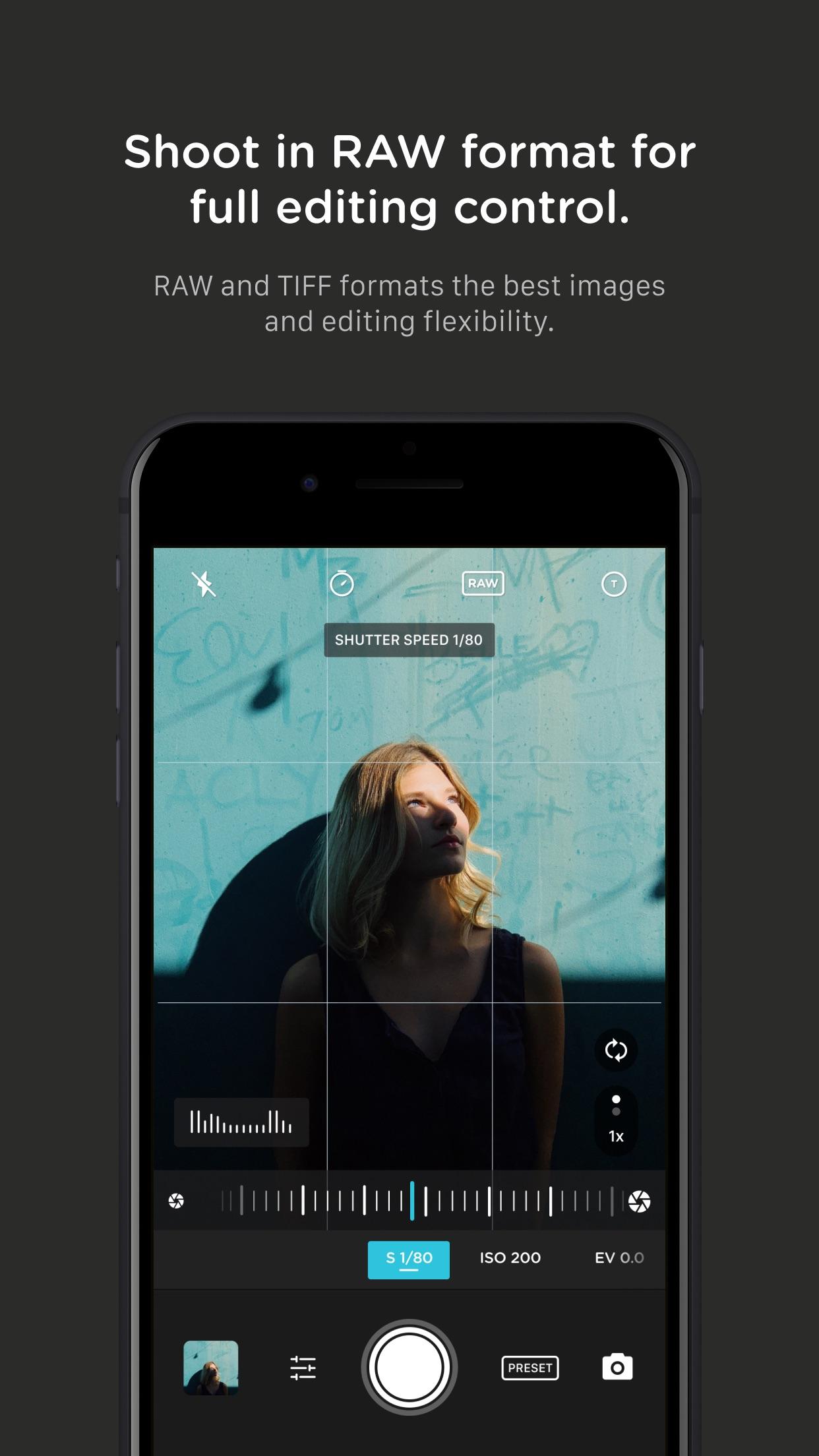 Screenshot do app Pro Camera by Moment