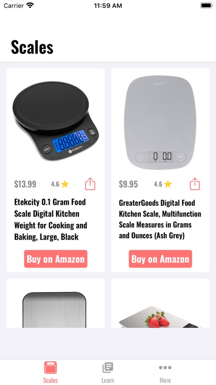 iScale: Kitchen Scale