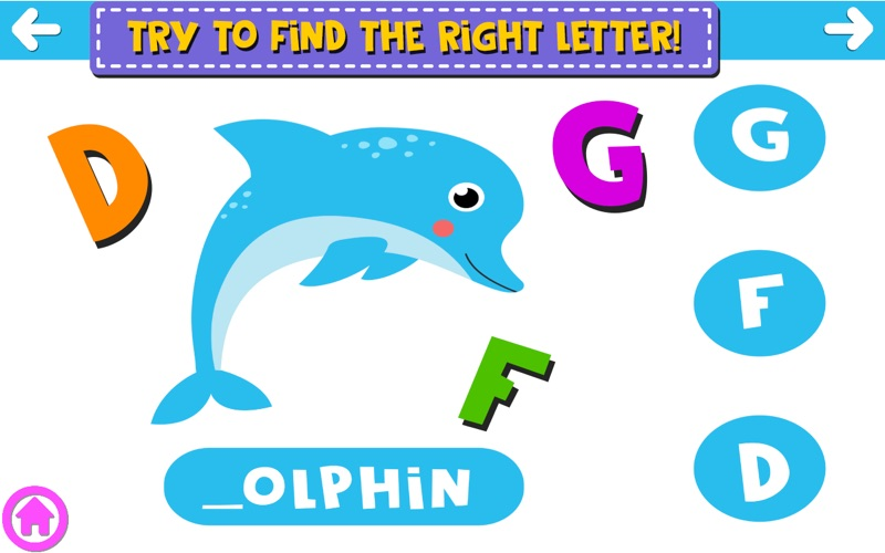 Finding The Missing Letter screenshot 1