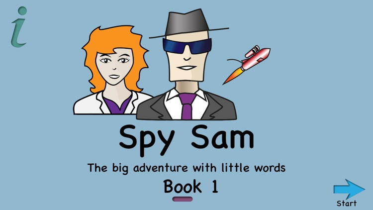 Spy Sam Reading Book 1