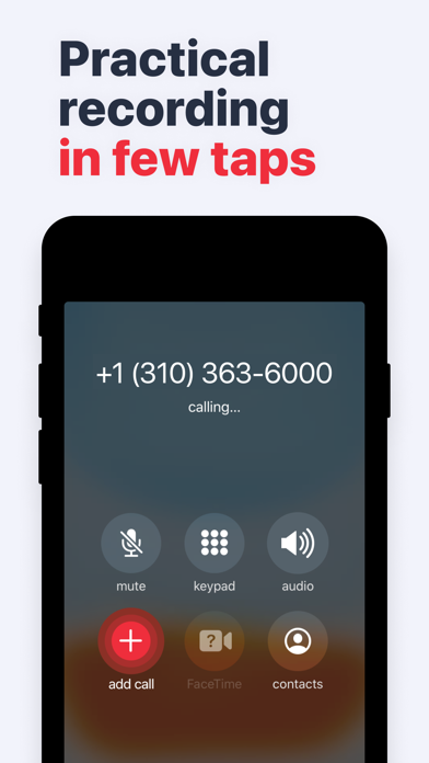 Call Recorder: Voice Recording Screenshot