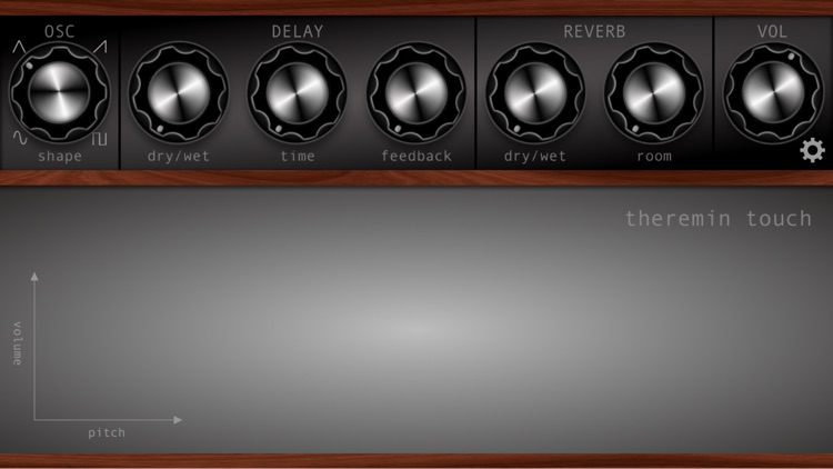 Theremin Touch screenshot-3