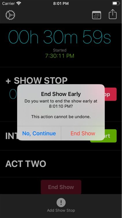 Stage Manager Stopwatch screenshot-3