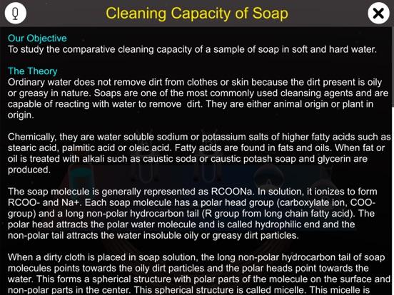 Cleaning Capacity of Soap screenshot 8