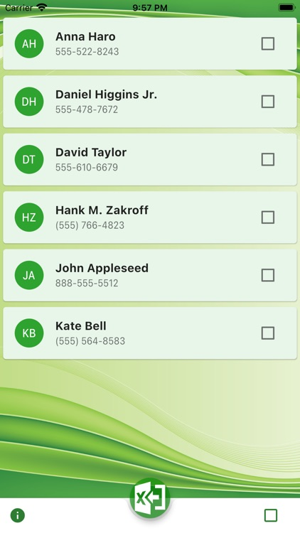 Contacts Export to Sheet