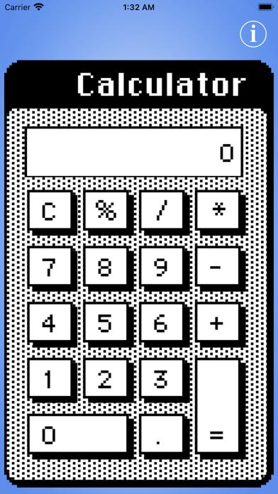 Calculator Desk Accessory screenshot 1