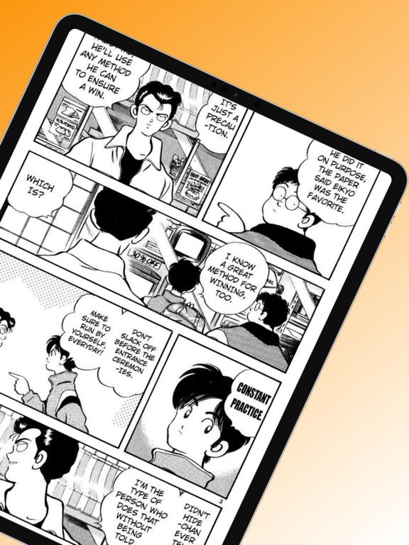 Ipad Screen Shot Manga Zone - Manga Reader 6