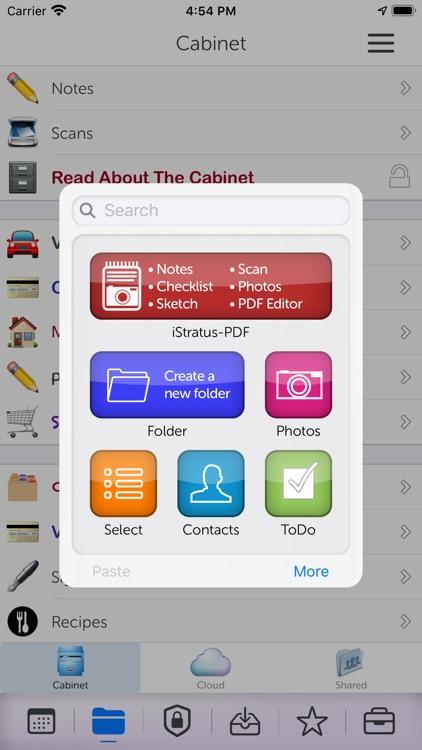 iStratus: Plan & Organize screenshot-4