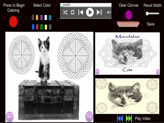 Mandalas - Cats screenshot 5