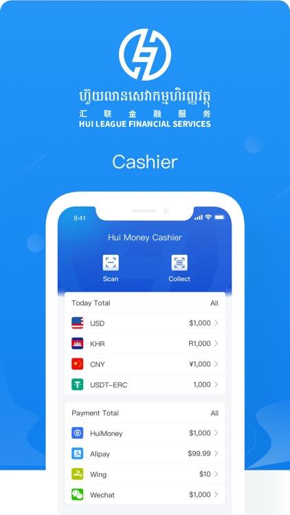 Hui Money Cashier