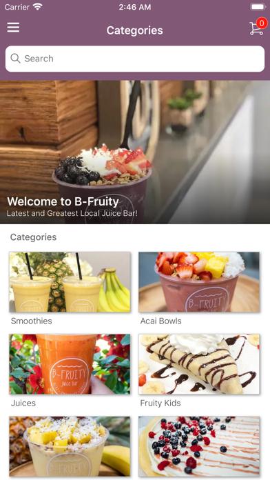 B Fruity screenshot 2