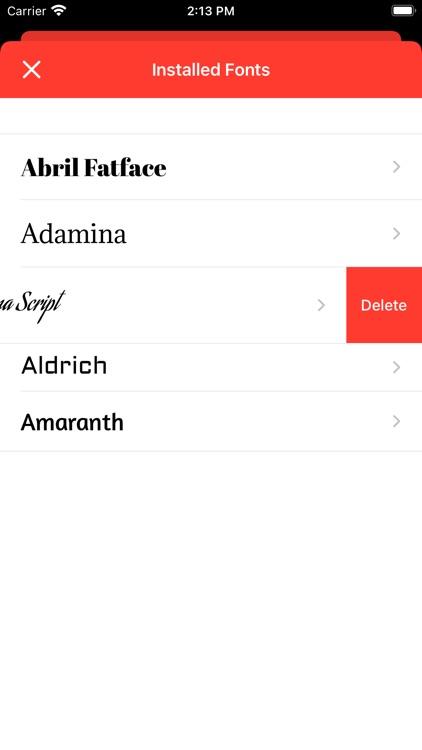 Fontastic - Install Fonts screenshot-8