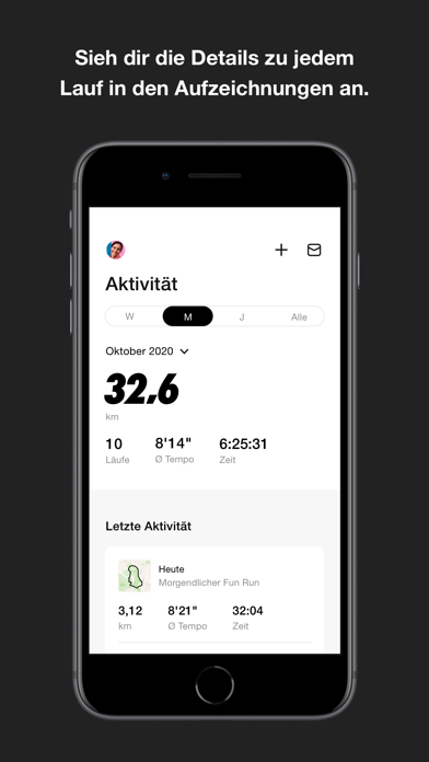 messages.download Nike Run Club software