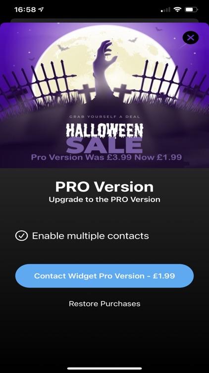 Contact Widget Pro screenshot-5