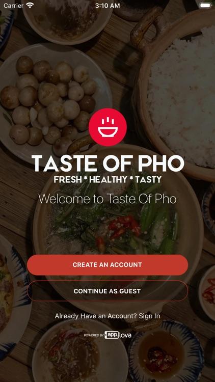 Taste Of Pho