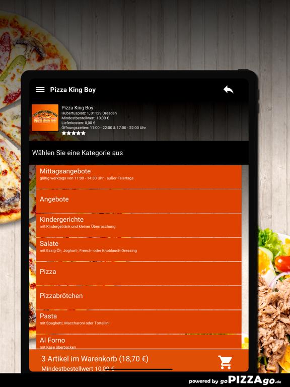 Pizza King Boy Dresden screenshot 8