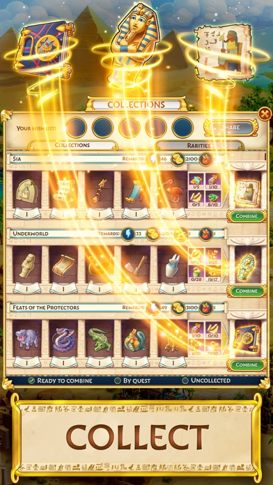 Jewels of Egypt: Match 3 Games free Crystals hack