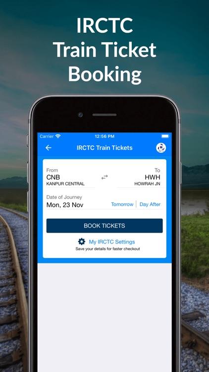 IRCTC Train Booking- RailYatri screenshot-0