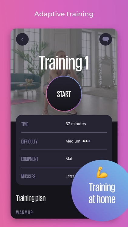 WELPS – workouts & meals