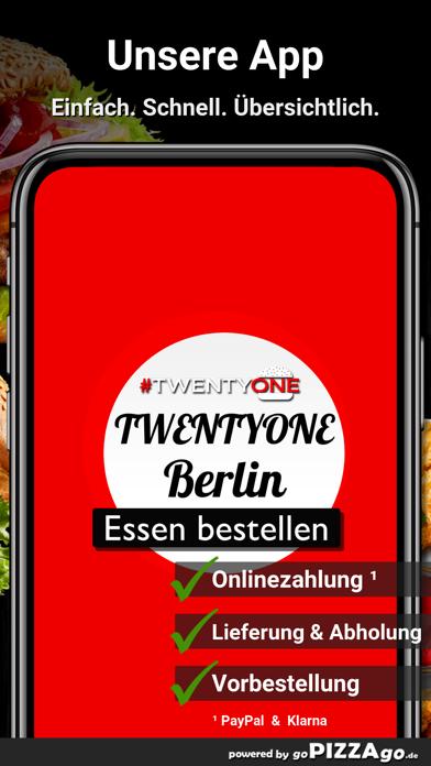 TWENTYONE Berlin screenshot 1