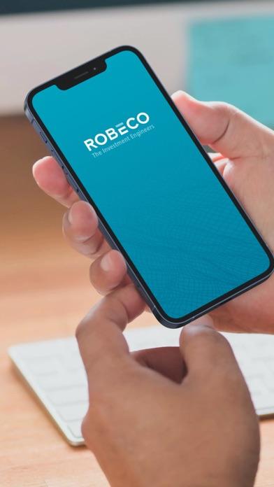 Robeco Identificatie iPhone app afbeelding 1