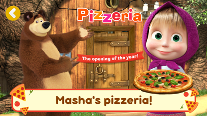 Screen Shot Masha and the Bear Pizzeria! 0