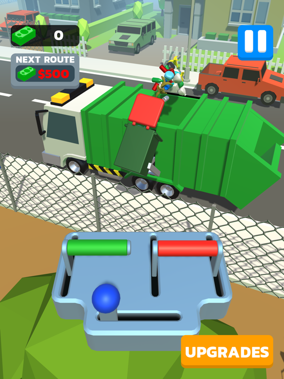 iPad Image of Garbage Truck 3D!!!