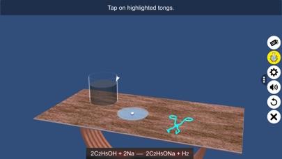 Reaction: Sodium with Ethanol screenshot 5