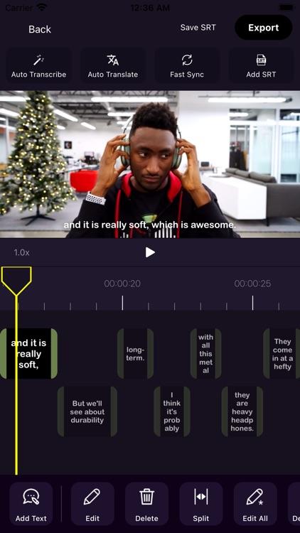 Video Subtitle - Auto Caption