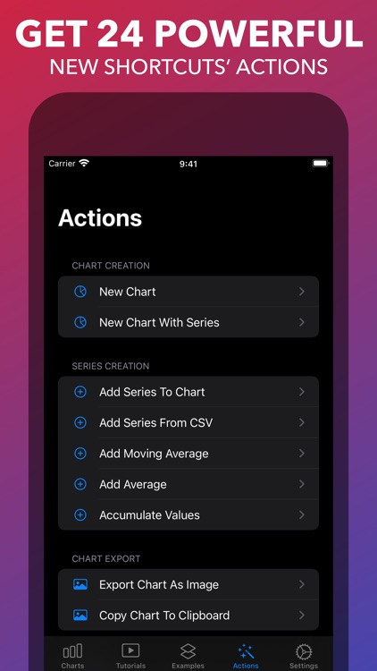 Charty for Shortcuts screenshot-4