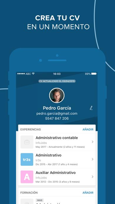 Screenshot #3 pour InfoJobs - Trabajo y Empleo