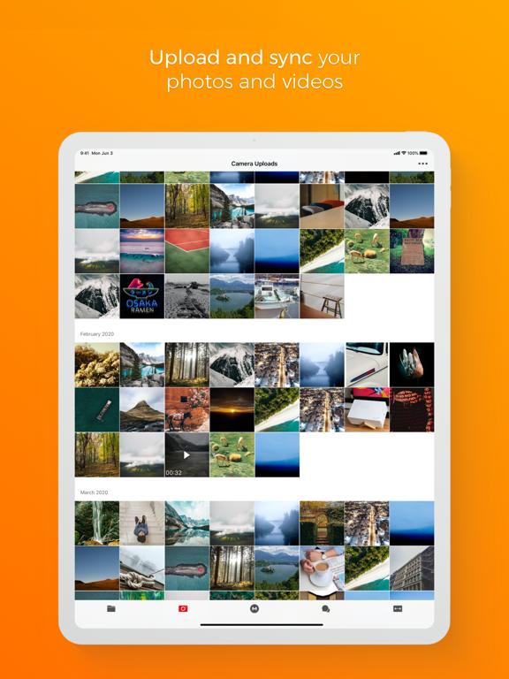 MEGA iPad captures décran