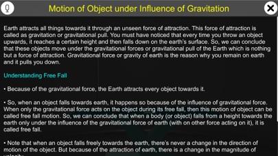 Motion Under Gravity screenshot 1
